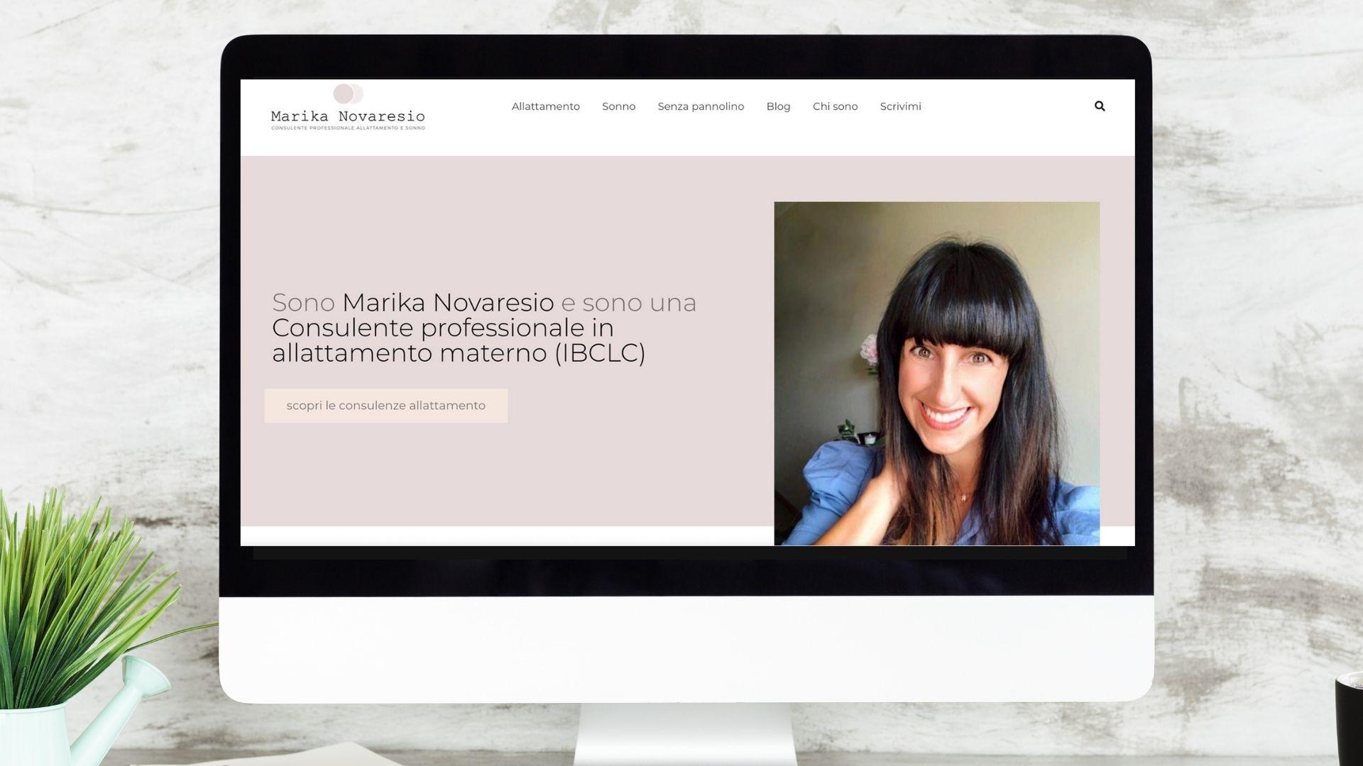 immagine di presentazione del portfolio di marika novaresio